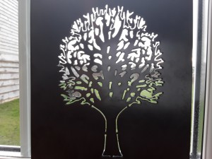 A panel made for our blacksmith - this is to be part of a firepit, specially made for a local holiday park.